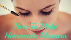 #HomemadeMascara without all the chemicals and toxins. You'll be surprised how simple this #DIY is!