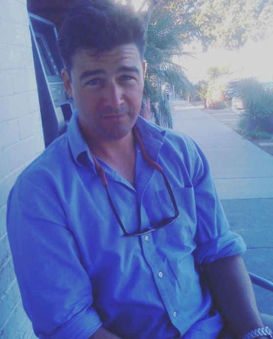 Yesterday before the Emmys, Connie Britton posted this super handsome photo of Kyle Chandler in honor of his birthday. | Connie Britton And Kyle Chandler's Reunion Was Too Precious For Words