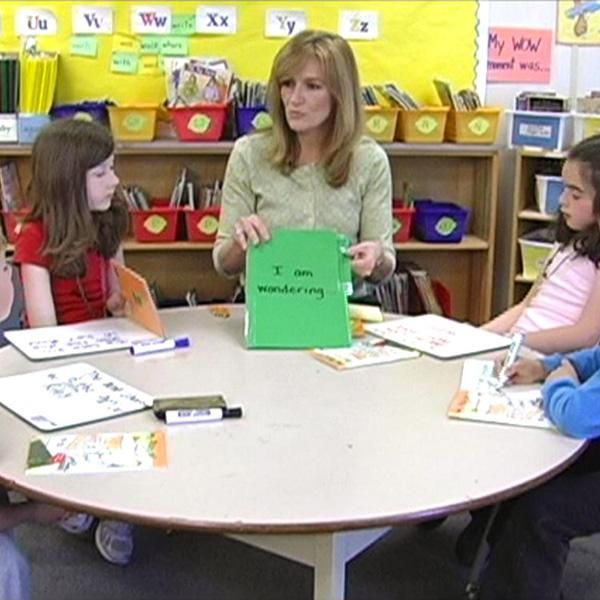 INSTRUCTION: This guided reading activity is an effective way to promote reading comprehension. It is interactive and allows students to build connections between their thinking and what is in the text. Students have to justify their answers by using what they have learned from the text.