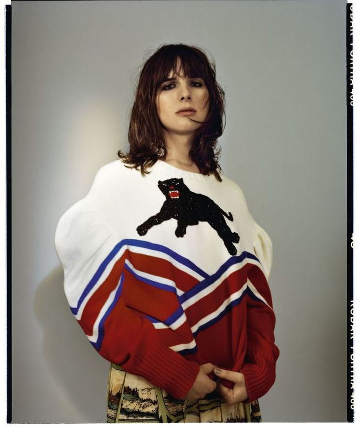 Icon Of Change! Hari Nef's ELLE UK September Cover