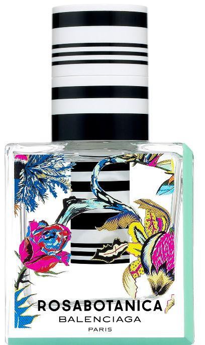 Balenciaga Paris' Rosabotanica bottle boasts pop-art graphics.