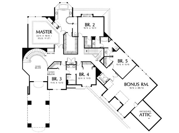 Appealing Courtyard Entry - 69369AM | Architectural Designs - House Plans