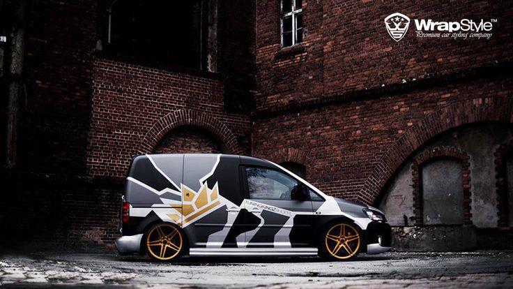 VW Caddy by WrapStyle