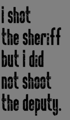 Eric Clapton - I Shot the Sheriff - song lyrics, songs, music quotes, song quotes,music quotes
