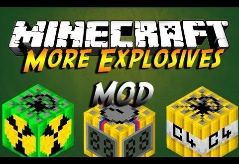 Minecraft More Explosives 1710 Mod Places To Visit