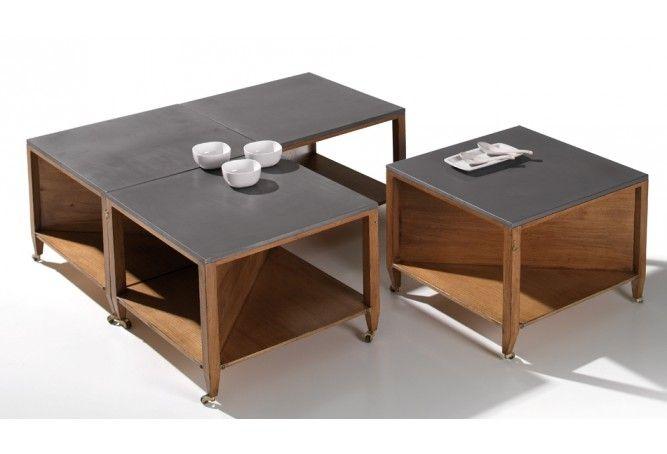 Table Basse CRAFT - Meubles Delmas