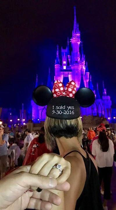 Would love to get engaged at Disney!