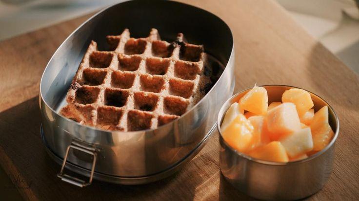 Havermoutwafels met chocolade | De keuken van Sofie - VTM Koken