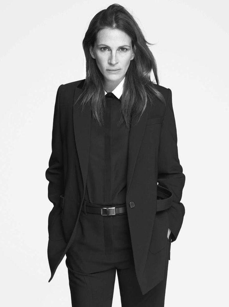 Ad Campaign: Givenchy Spring/Summer 2015 Model: Julia Roberts Photographer: Mert Alas & Marcus Piggott Fashion Editor: Katy England Hair: Serge Normant Make-up: Genevieve Herr