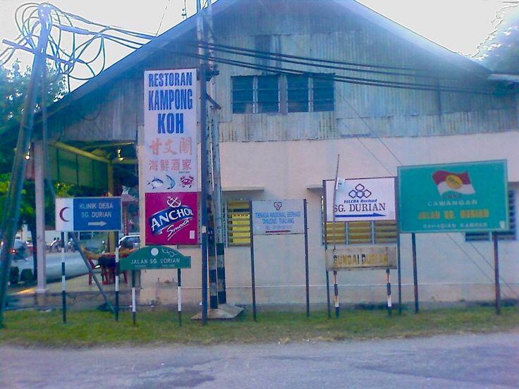 Near Tanjung Tualang, Perak