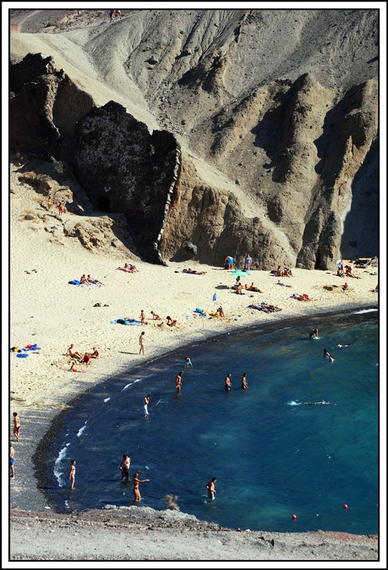 Volcanic Beach - Lanzarote Canary Islands by stefano marcellini. 19 of the best beaches in Europe: http://www.europealacarte.co.uk/blog/2011/03/28/best-beaches-europ/