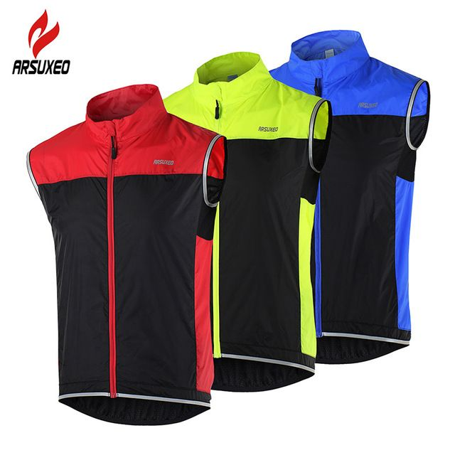 ARSUXEO Cycling Vest MTB Bike Bicycle Breathable Windproof Vest Waterproof Clothing Sleeveless Cycling Jacket for Men♦️ B E S T Online Marketplace - SaleVenue ♦️ http://www.salevenue.co.uk/products/arsuxeo-cycling-vest-mtb-bike-bicycle-breathable-windproof-vest-waterproof-clothing-sleeveless-cycling-jacket-for-men/ US $16.25