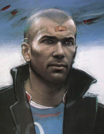 Enki Bilal - Zidane