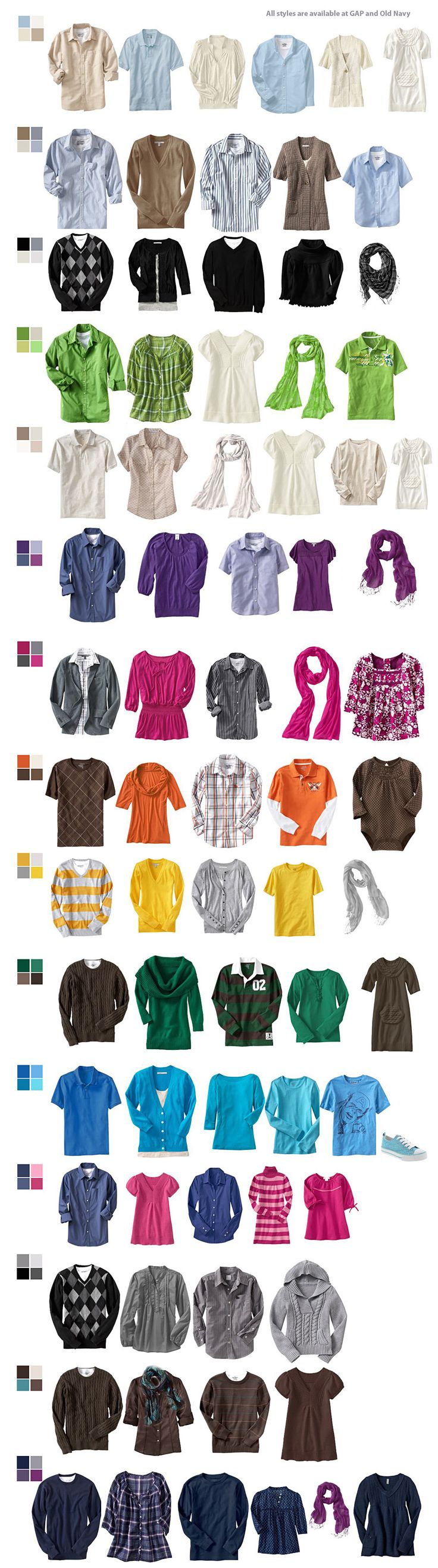 105 best family photo wardrobe color palette suggestions images