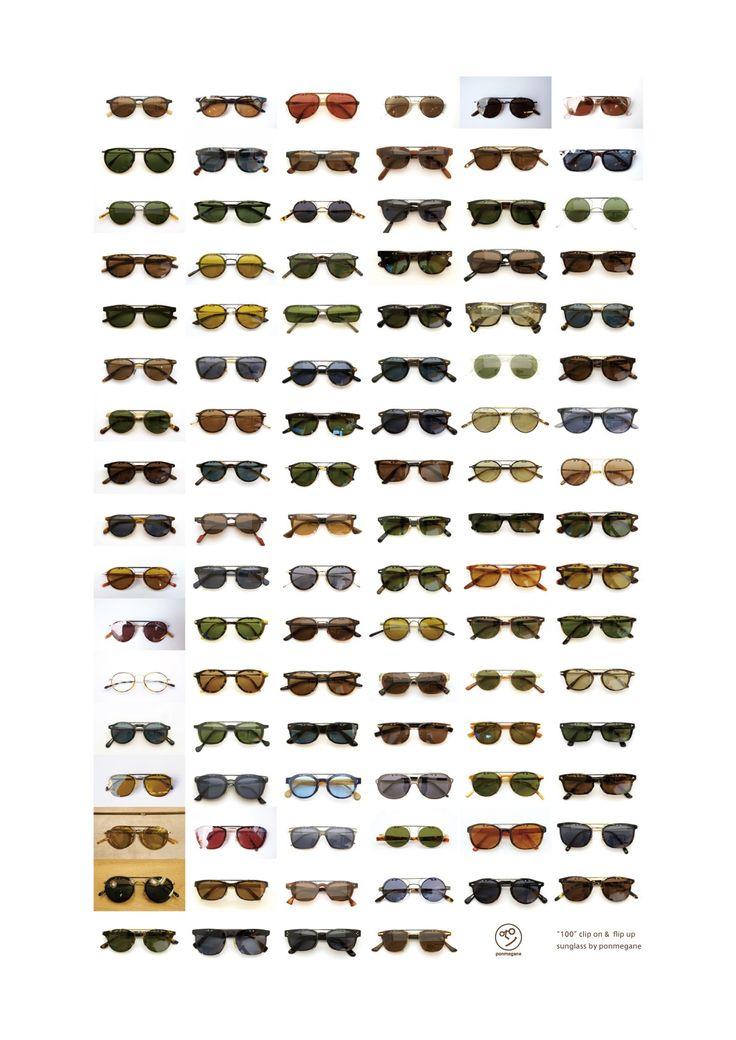 ponmegane-original  100 clipon sunglass | optician | ponmegane