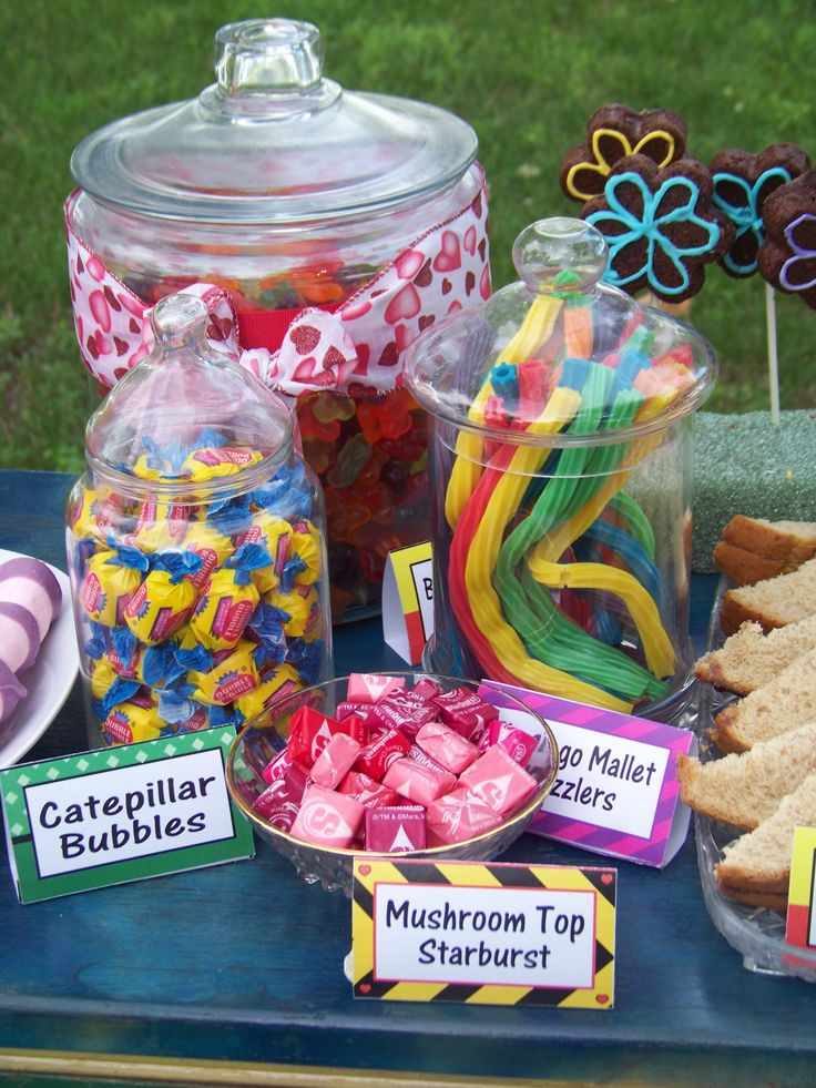 Alice In Wonderland Party Cute Ideas For A Candy Table