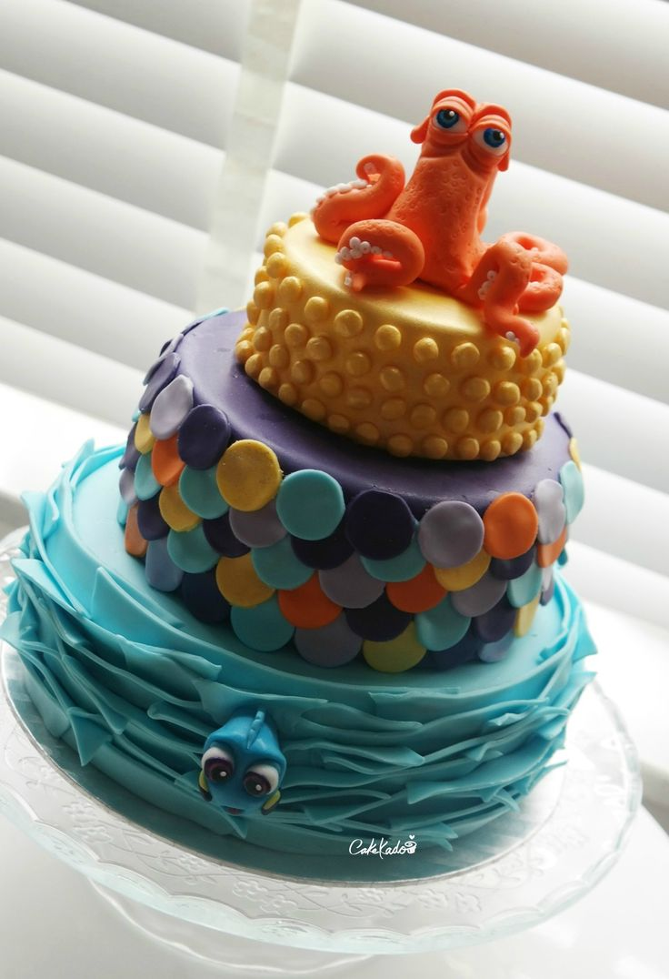 Finding Dory and Henk cake