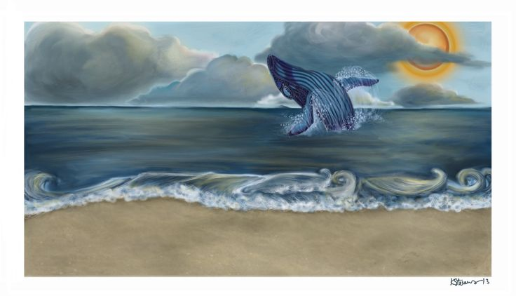 Whale practice painting done in Sketchbook Pro 6 on a Microsoft Surface with Wacom drivers. I'm realllly new to the software, here's to hoping i get better. :/