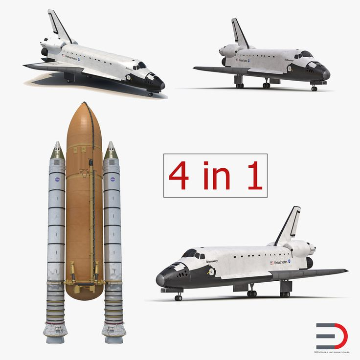 Space Shuttles Collection 2