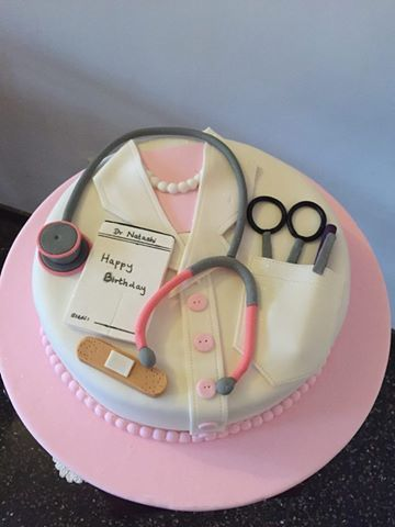 Medical Theme Birthday cake designed and created by Yamuna Silva, Kotte