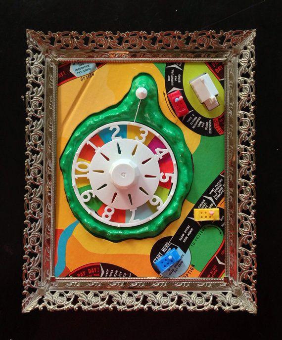 Vintage 1946 Monopoly board game Framed Art by ScottsArtShop