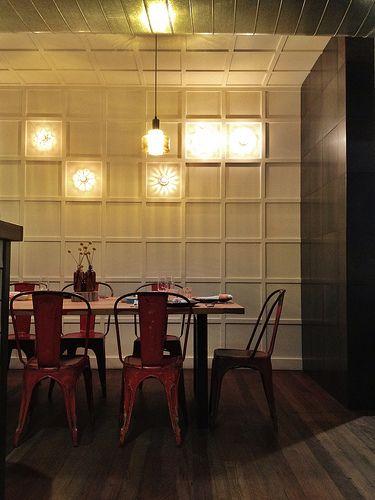 Top Paddock's lighting - Top Paddock Cafe - Richmond, Melbourne.