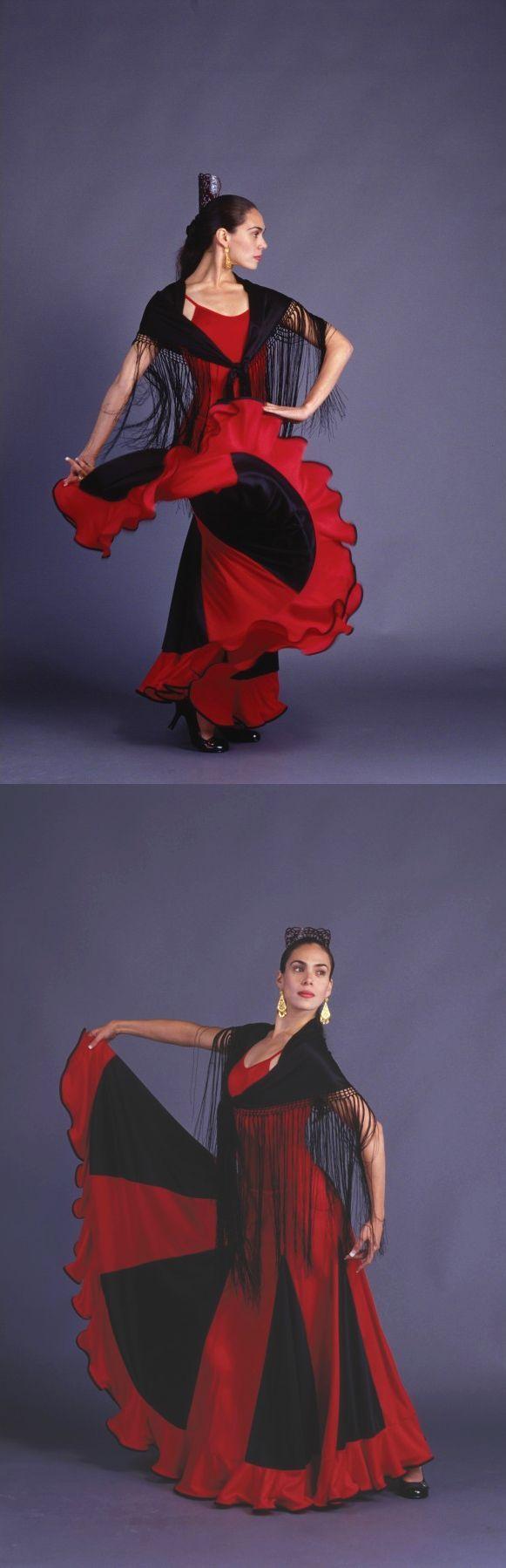 Vestido con Falda Caracol para flamenco #Venta #Ropa #Flamenco #Falda #Baile #Danza