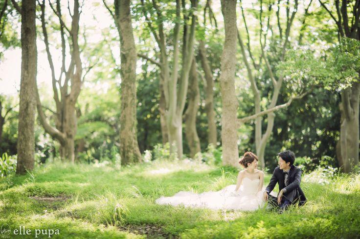 森での横浜ロケーション前撮り |*elle pupa blog*