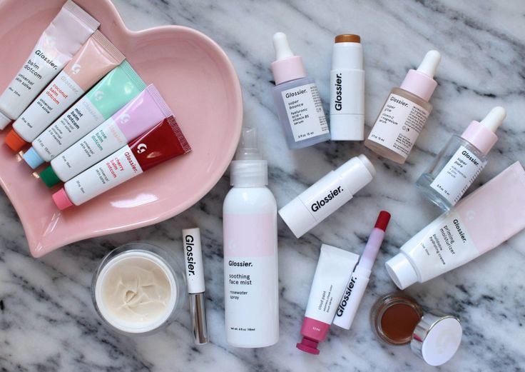 the best and worst of glossier including boy brow, balm dotcom, cloud paint, and haloscope