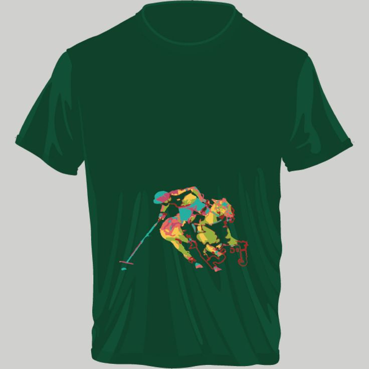 playing polo; t-shirt unisex, woman, child, 9 colors, several sizes; shipping worldwide; 17€ + shipping rates