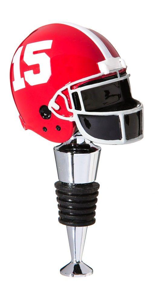 University of Alabama Football Helmet Bottle Stopper