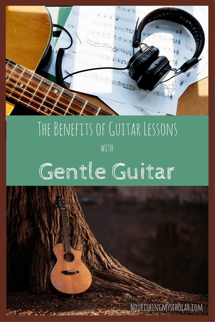 The Benefits of Guitar Lessons with Gentle Guitar:…