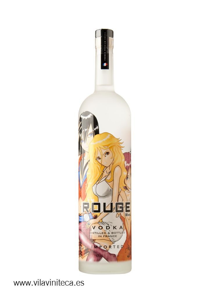 Rouge Vodka Manga Edition 1L desde $57.77 (39,95€)