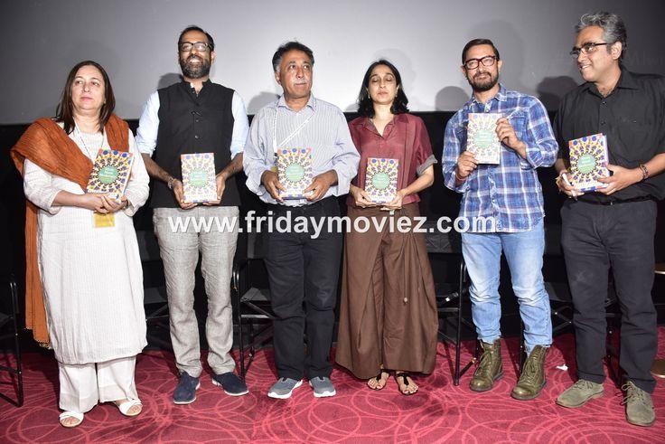 Aamir Khan at the launch of 'The Cinema of Nasir Hussain' book #AamirKhan #TheCinemaofNasirHussain #AkshayManwani #MansoorKhan #NuzhatKhan