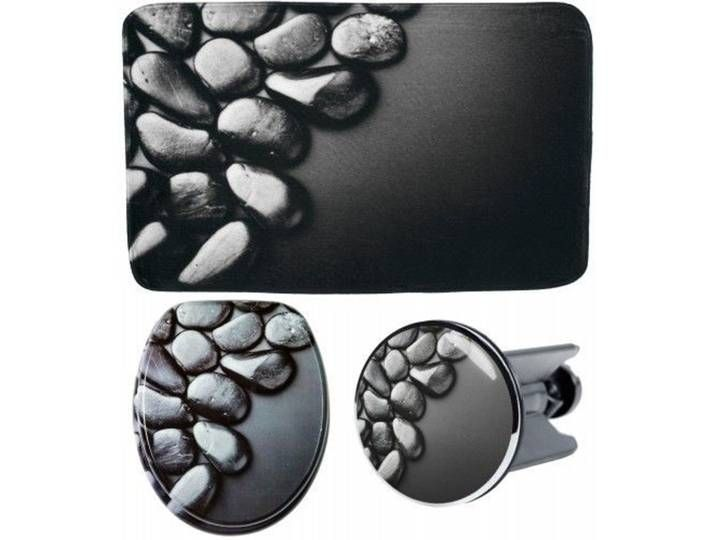 3 Teiliges Badezimmer Set Hot Stones In 2020 Cufflinks Accessories