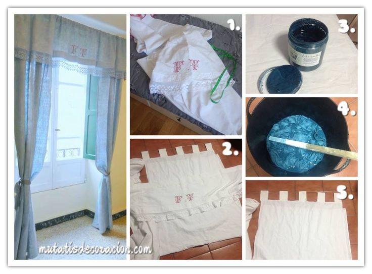 17 mejores ideas sobre como hacer unas cortinas en for Como hacer ganchos para cortinas