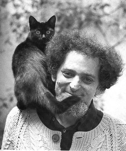 Author Georges Perec, and cat.