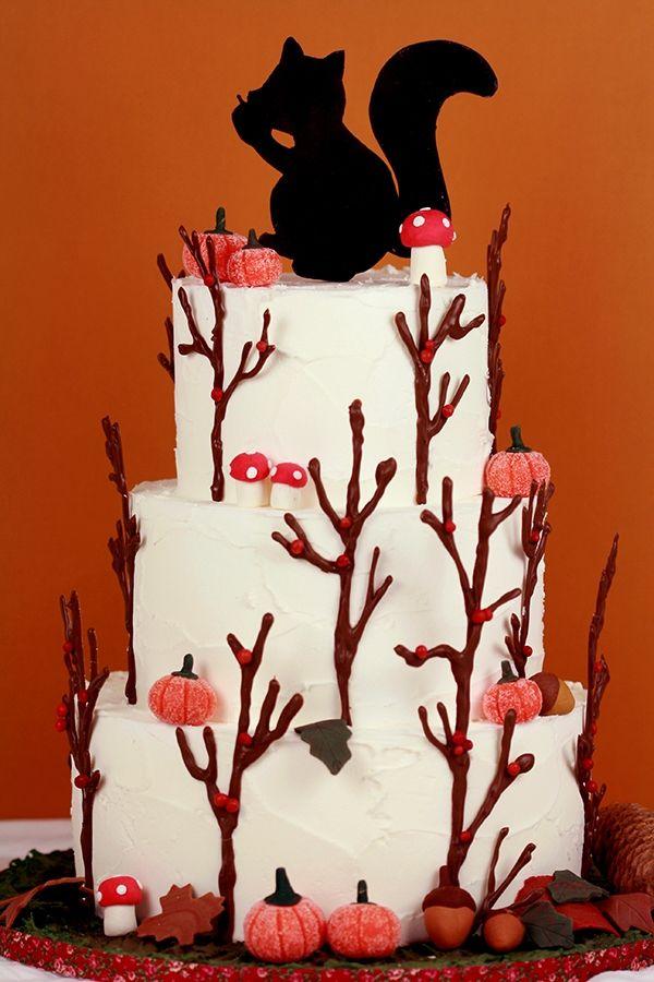 Notre gâteau d'automne !