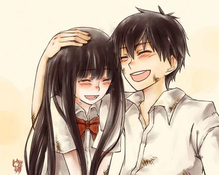 Kimi ni Todoke, I barely started reading it and I already like it! :)