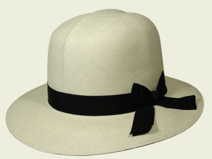 Producer: Panama hats made in Ecuador-Tesi Hemingway style #fashion #hat  #womanhat #panama #ribbon #hats #accessories #accessori #cappelli #moda #fashion #cappellidonna