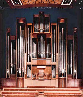 1992 C.B. Fisk organ, Opus 100, at Meyerson Symphony Center, Dallas, Texas