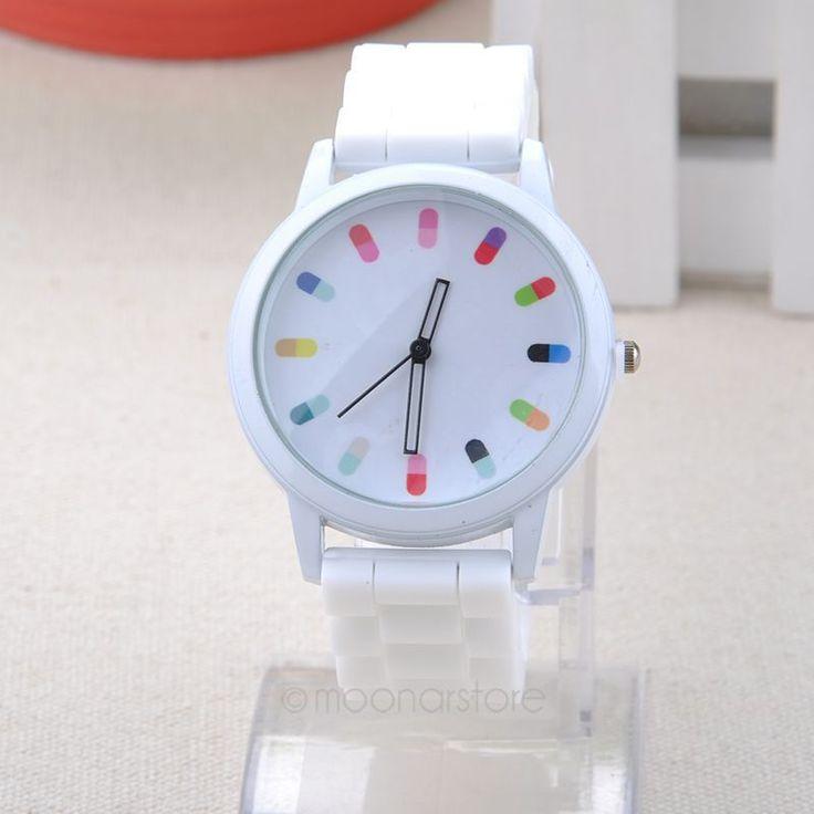 Aliexpress.com: Comprar 2014 mujeres reloj del silicón de ginebra helados de verano de color mujer reloj de moda reloj deportivo relogio feminino zx * MHM391 # s8 de s8 fiable proveedores en Pop-Shop