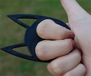 Cat Ears Self Defense Keychain.