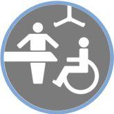 Changing Places is a campaign on behalf of people who cannot use standard accessible toilets. This includes people with profound learning disabilities, their carers, as well as other disabled people.