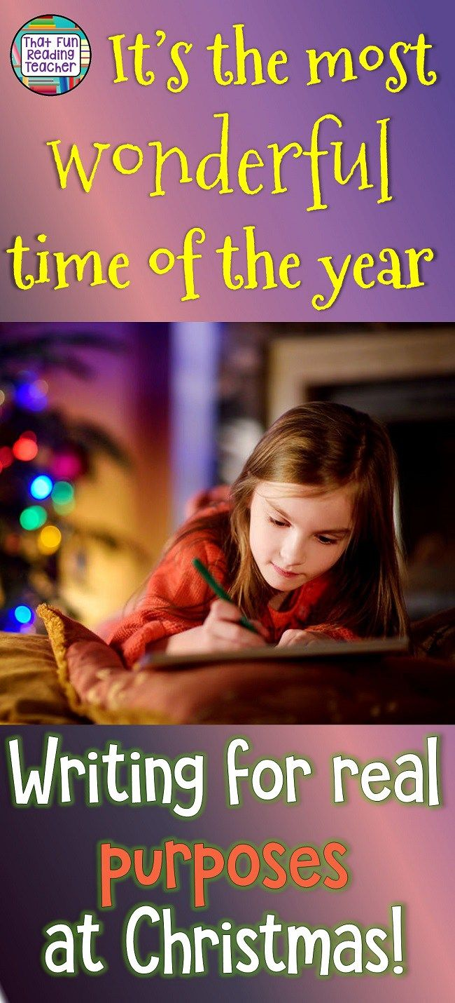 It's the most wonderful time of the year - for kids to be motivated to write! #Christmas #writing #fun #education #kids