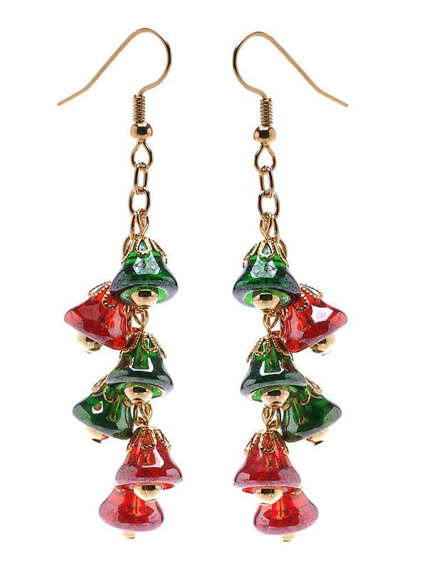 Free Tutorial - How to: Jingle All the Way Earrings Project from Beadaholique
