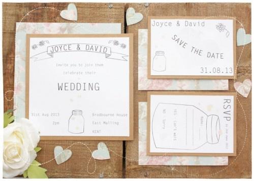 faire part de mariage original sur etsy source littlejoydesigns - Faire Part Mariage Etsy