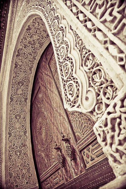 Door frame by Paki Nuttah.