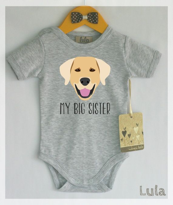 Golden Retriever baby clothes. Dog baby big by HandmadeByLula