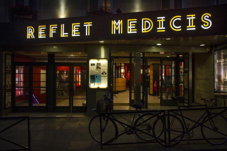 Le Reflet Médicis, ancien théâtre des Noctambules. Né en 1964. Rue Champollion, 75005 Paris